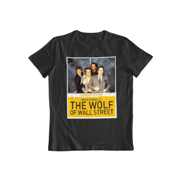 t-shirt wolf of wall stree